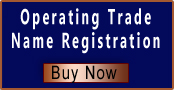 Register a business name (operating trade name) for a company