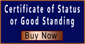Certificate of Status | Certificate of Good Standing | Certificate of Compliance