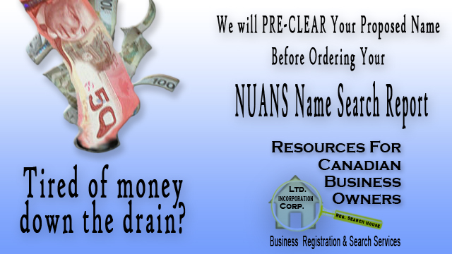 NUANS Name Search Reports