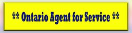 Ontario Agent for Service